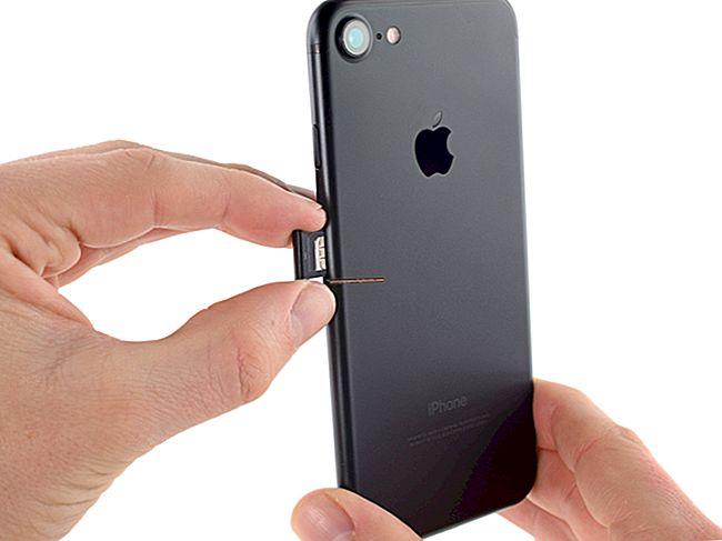 Ativando um SIM para um iPhone 4