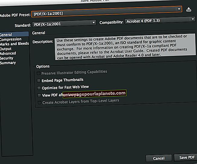 Como compactar um PDF no Acrobat