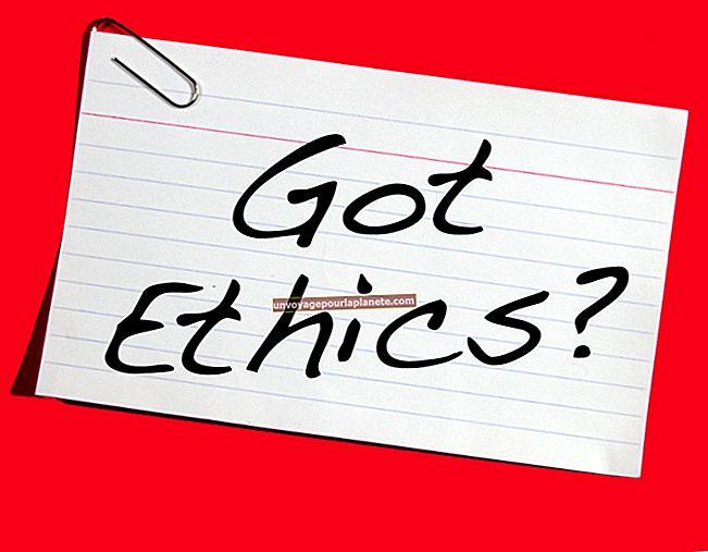 Seis características de um negócio ético