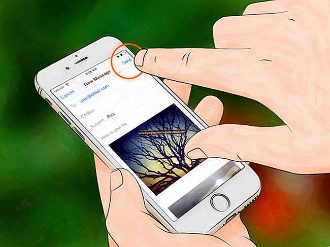 Como enviar uma foto para um celular da Verizon