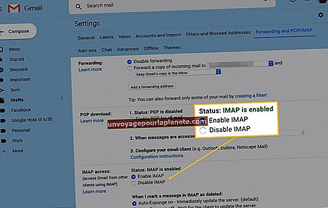 O Yahoo Mail é um POP3 ou uma tecnologia IMAP?