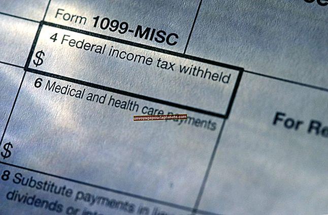 Como inserir um 1099-B em uma declaração de imposto