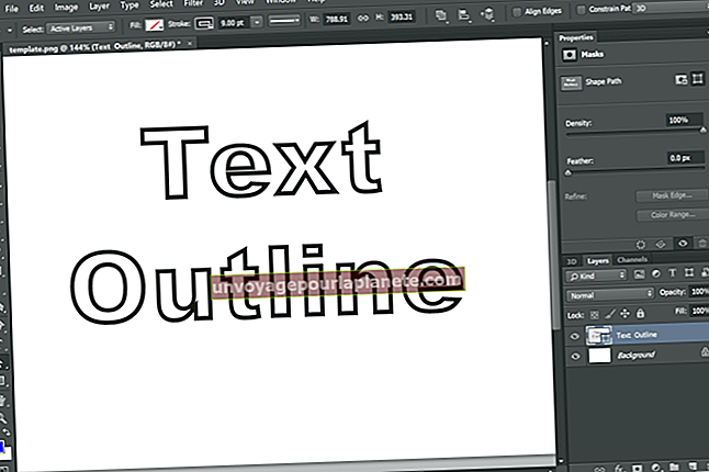 Como delinear uma fonte no PowerPoint