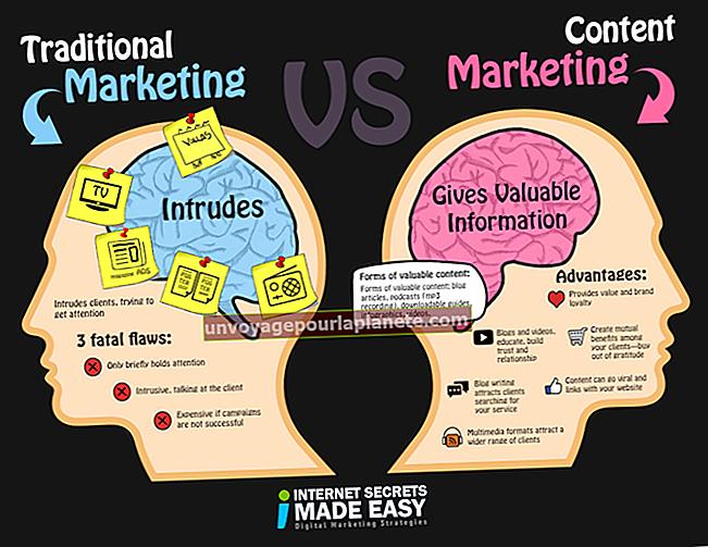 Exemplos de marketing tradicional