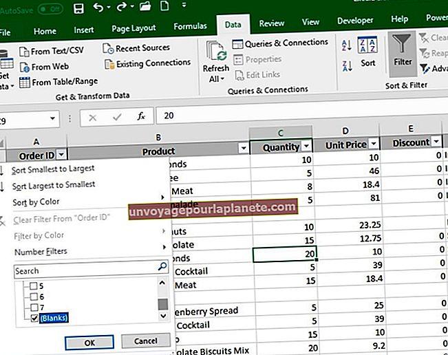 Como excluir páginas em branco no Excel