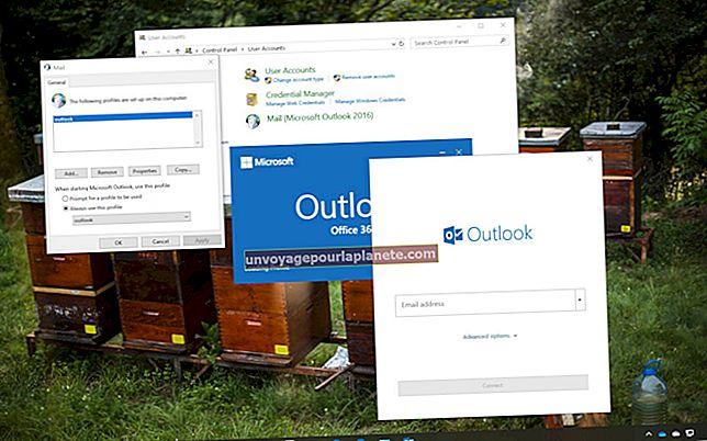 Como excluir um registro de perfil do Outlook