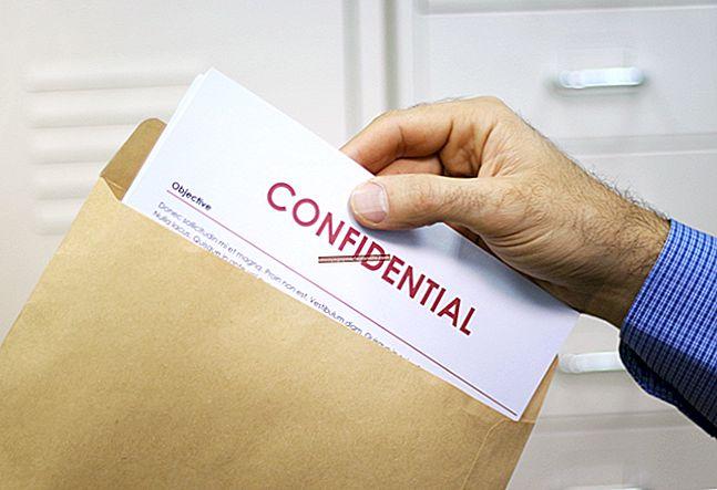 Consequências do funcionário para quebra de confidencialidade