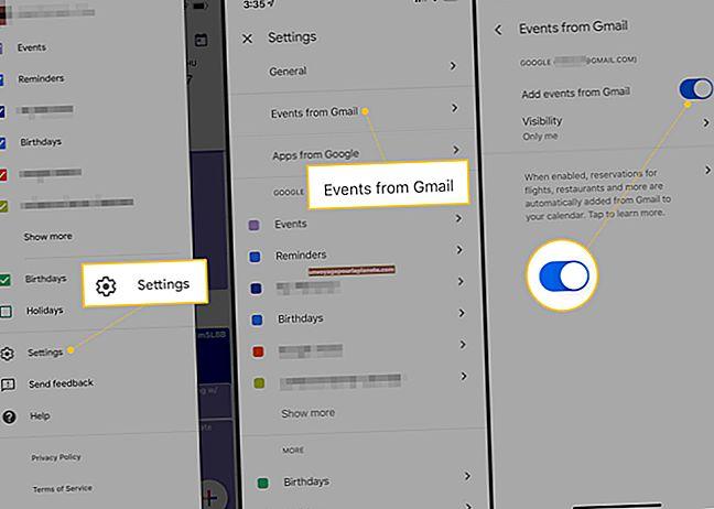 Como criar um evento no Google Gmail a partir de e-mails