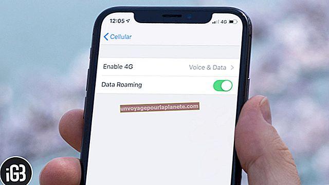 Como desativar o roaming no iPhone