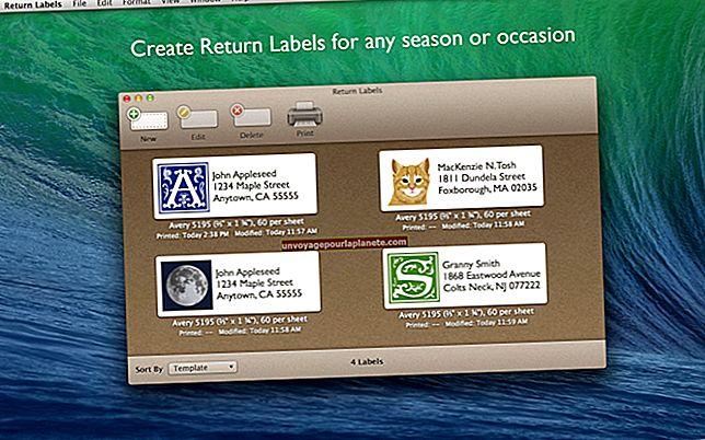 Como fazer etiquetas usando páginas em um Mac
