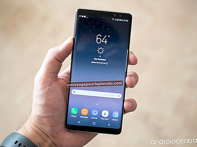 Como fazer uma captura de tela em um tablet Galaxy Note 8