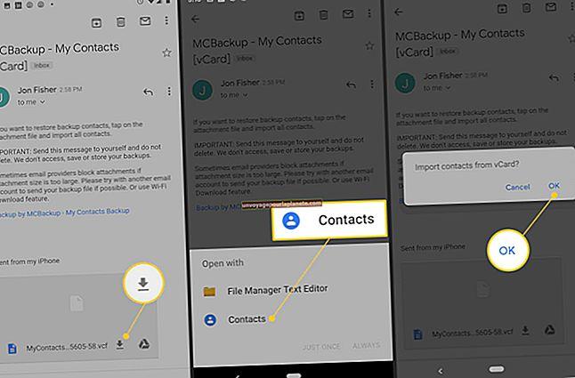 Posso importar meus contatos do Outlook para o Android?