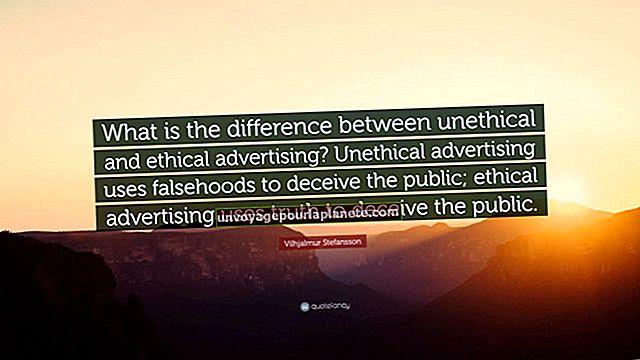 Qual é a diferença entre publicidade antiética e ética?