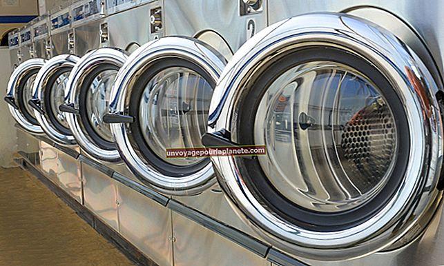 Làm thế nào để mở một cơ sở kinh doanh giặt là