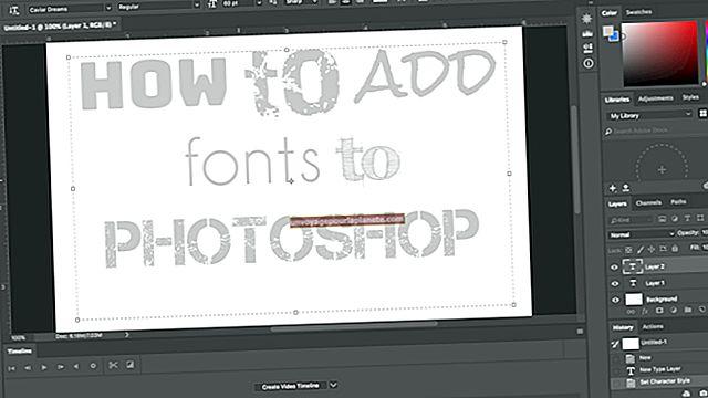 Como adicionar fontes no Photoshop CS3